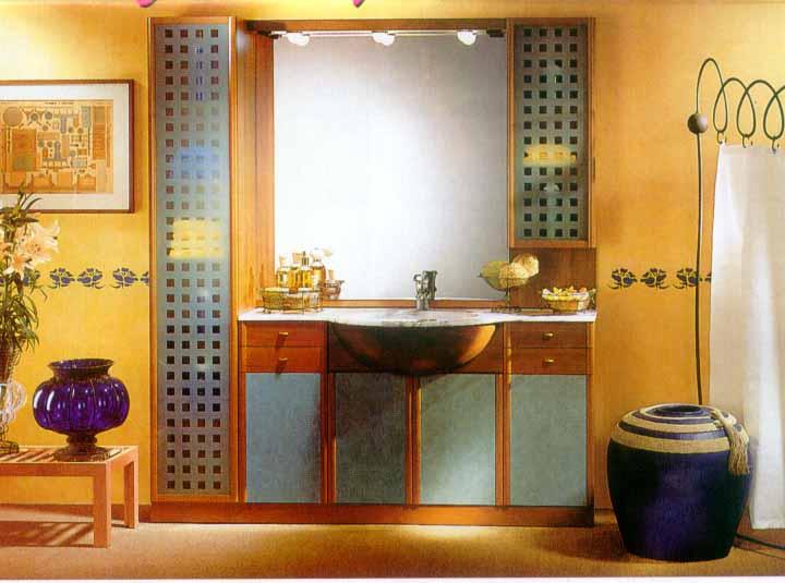 Материалы для ванной комнаты — пример