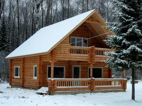 Выбор материала для строительства дома - Дом из лиственницы