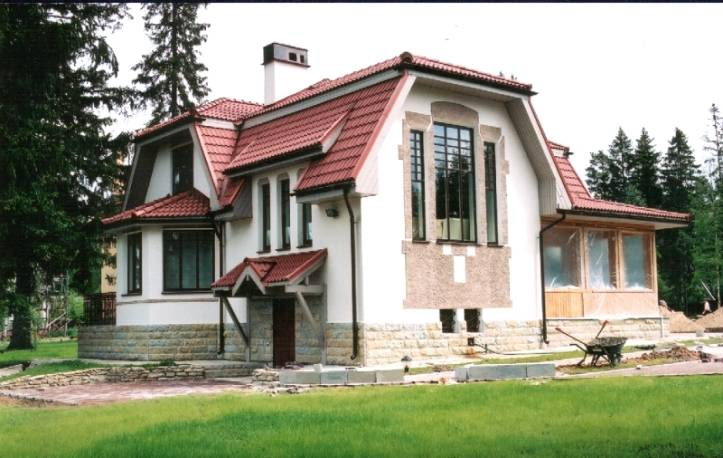 Выбор материала для строительства дома - Каменный дом