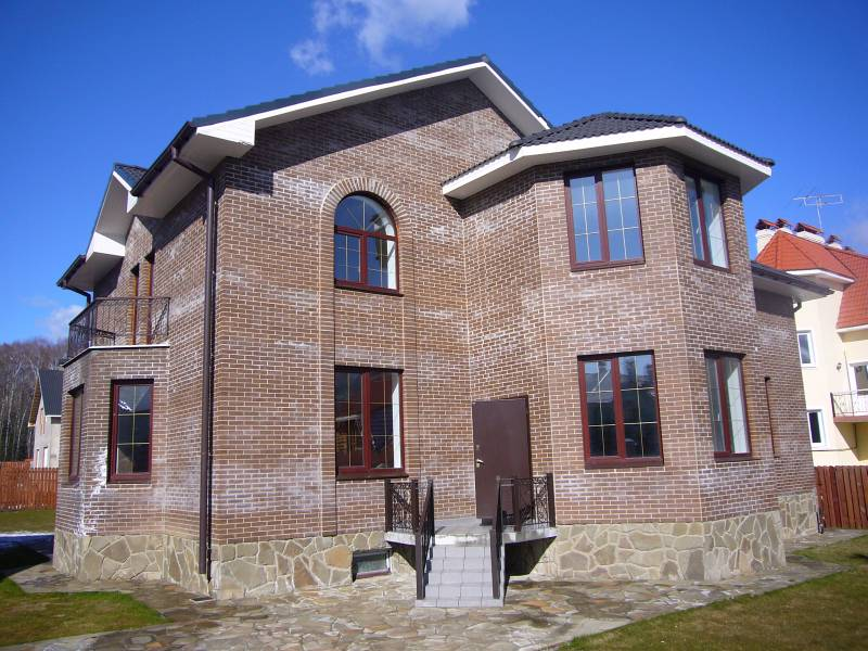 Выбор материала для строительства дома - Дом из кирпича