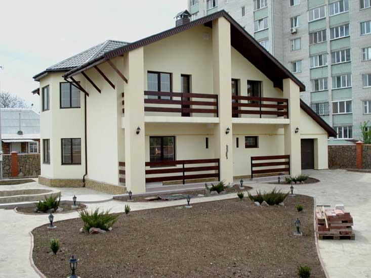 Выбор материала для строительства дома - Дом из ячеистого блока