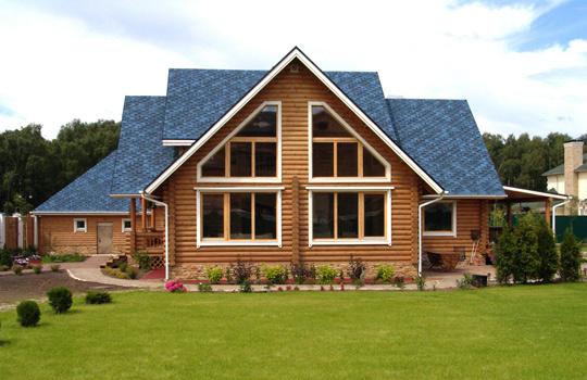 Выбор материала для строительства дома - Деревяные дома. Пример 2