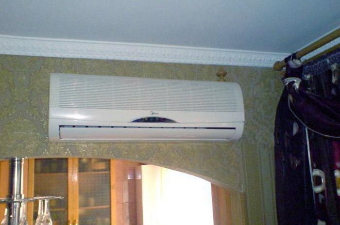 Мебель не должна перекрывать ток воздуха от кондиционера