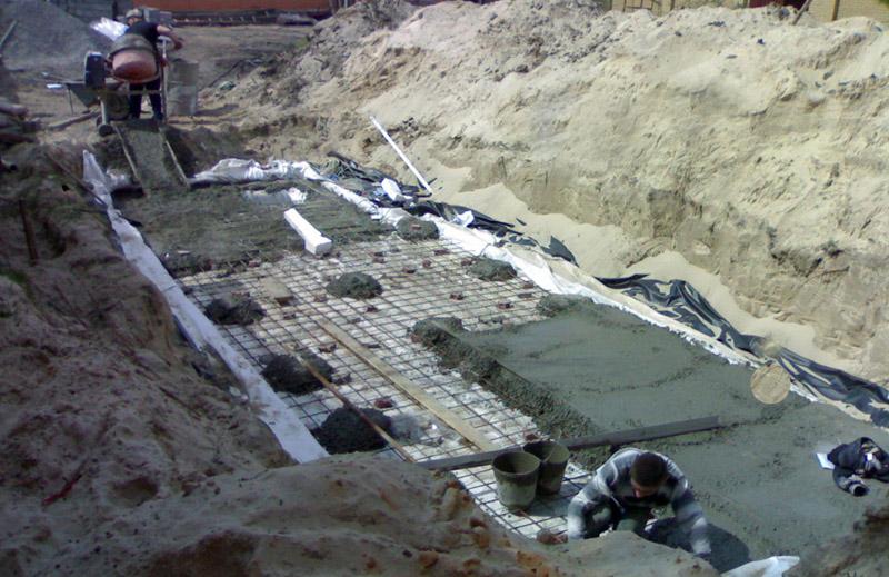 Строительство бассейна – сложный процесс